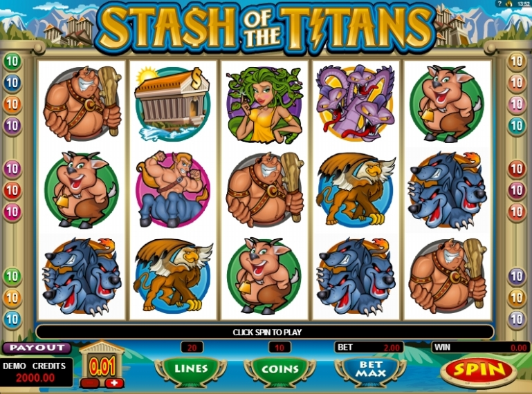 Stash of the Titans slot machine