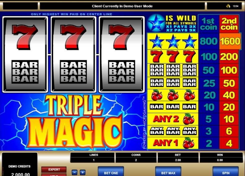 Triple Magic slot machine